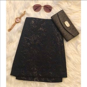 Abercrombie & Fitch Embroidered Skirt